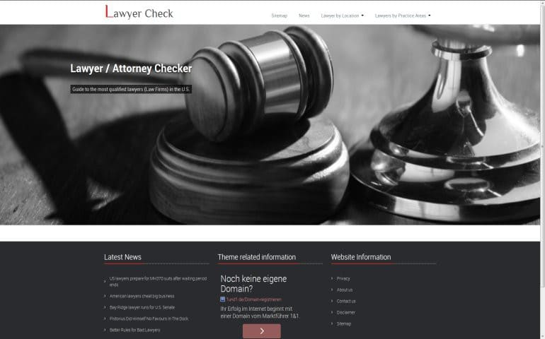 Lawyer Check